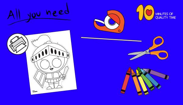 knight craft ideas