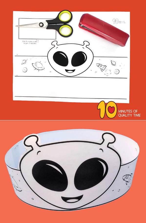 alien crafts ideas