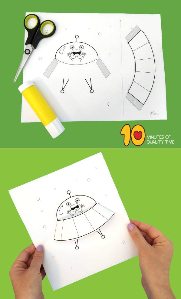 alien craft activities