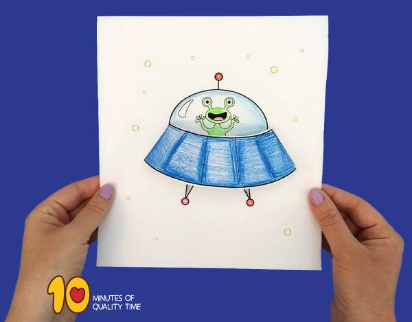 alien crafts for preschoolers