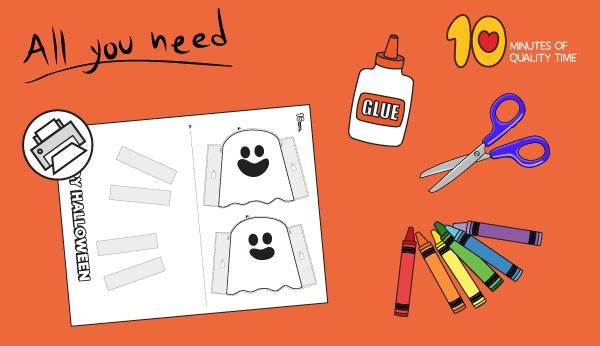 halloween 3d paper crafts