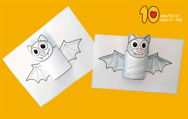halloween bat paper crafts