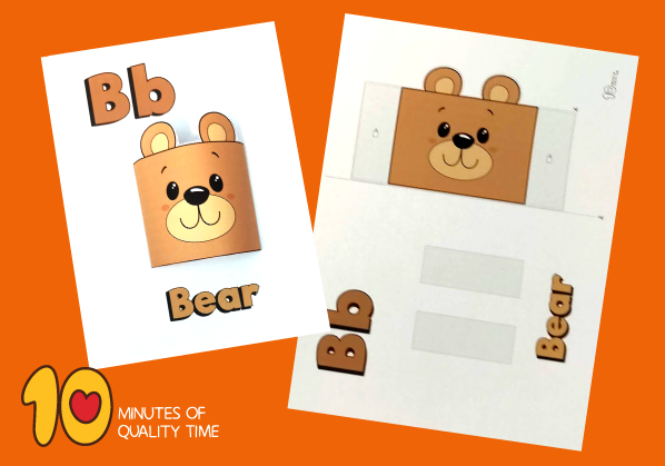 bear craft printable