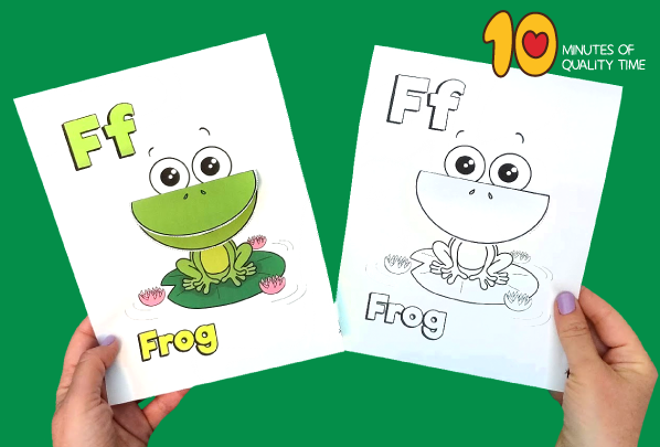 frog craft activity