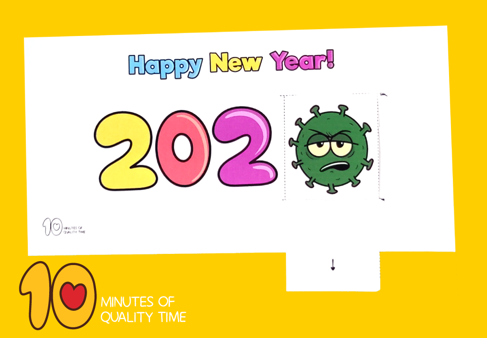 happy new year crafts for preschoolers