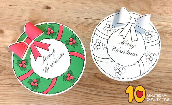 christmas wreath craft kit