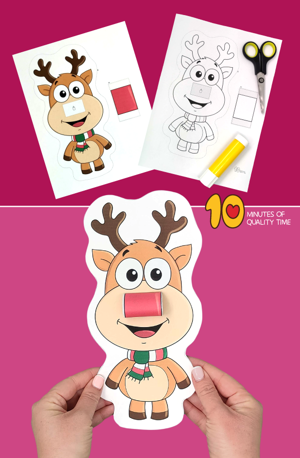 reindeer craft preschool