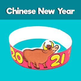 2021 Year of the Ox Printable Crown