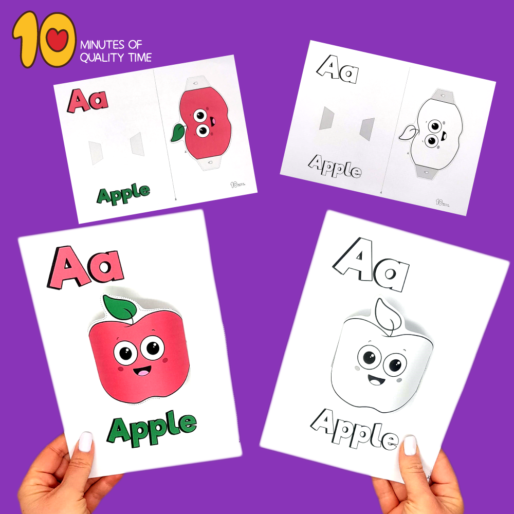 letter a crafts for preschoolers