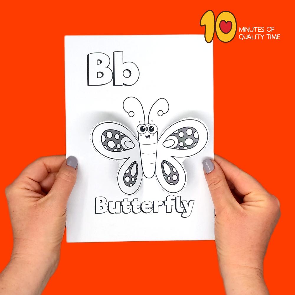 letter b crafts for preschoolers