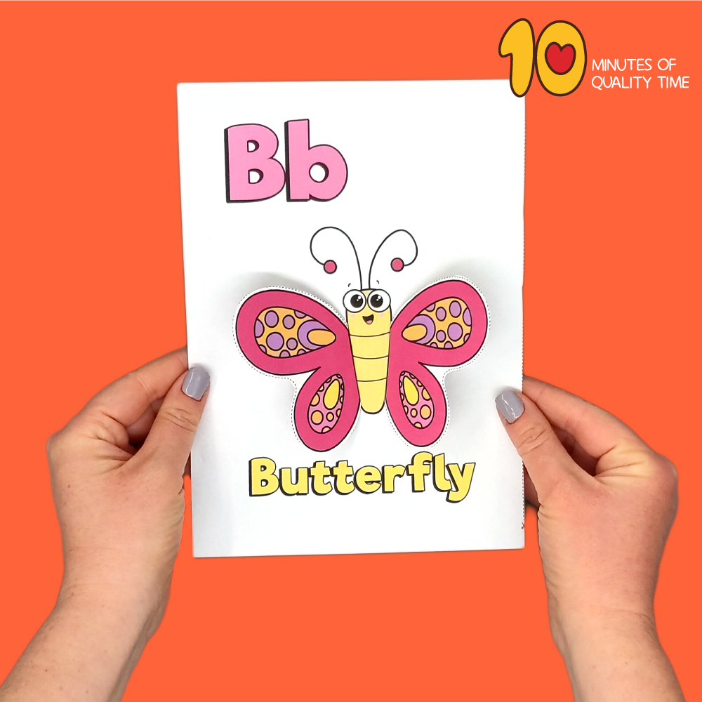 letter b craft template