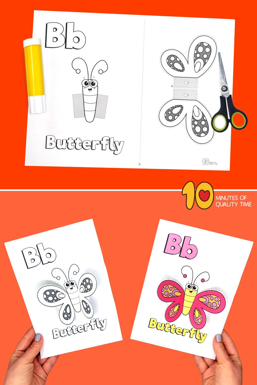 alphabet crafts printable