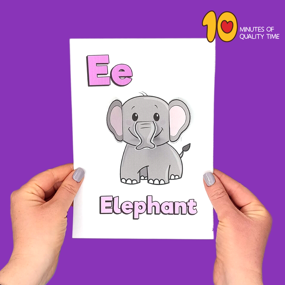 letter e crafts printable