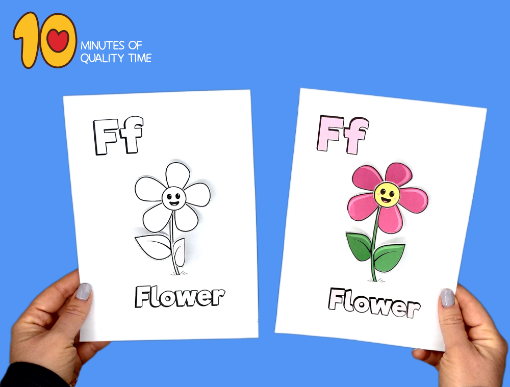 letter f craft activity
