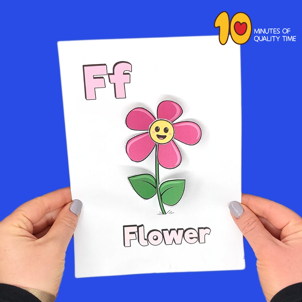 letter f craft template