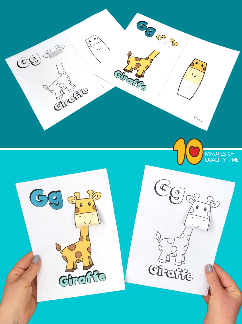 letter g craft for preschool