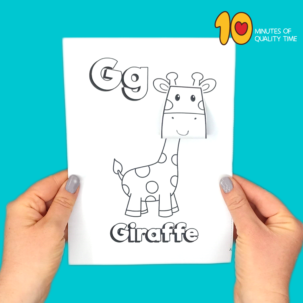 letter g craft for kindergarten