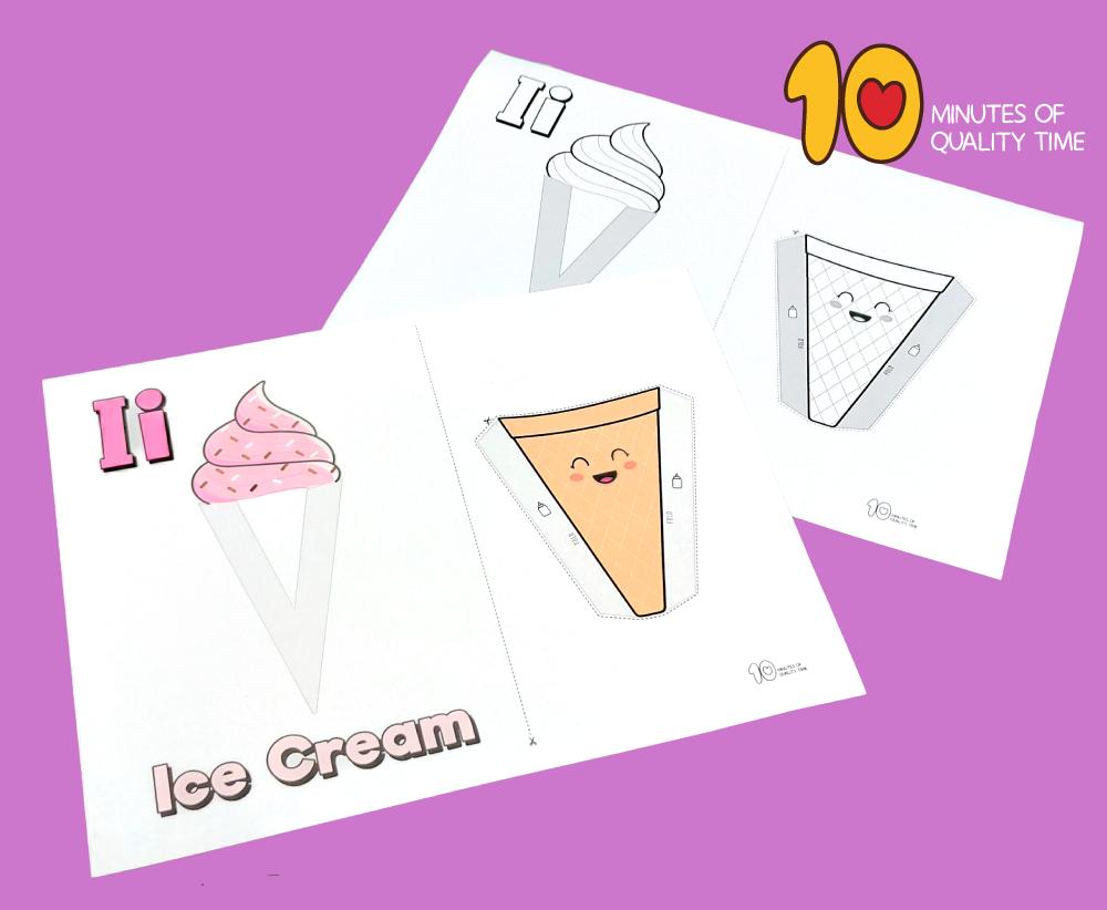 letter i craft for prek