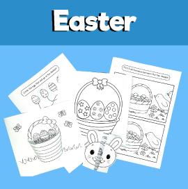 5 Easter Basket Activities for Kids