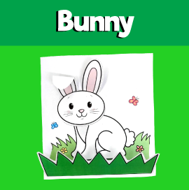 Cut and Paste Bunny Craft