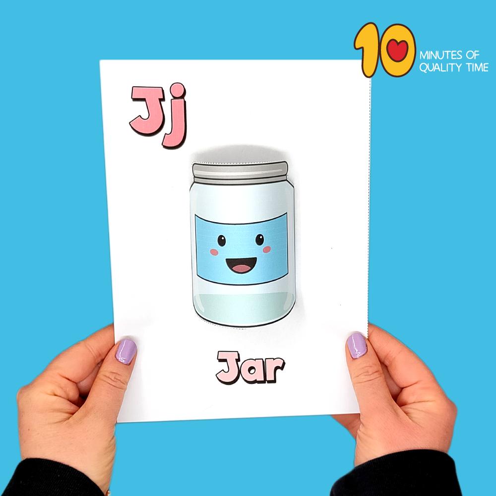 letter j craft for kindergarten