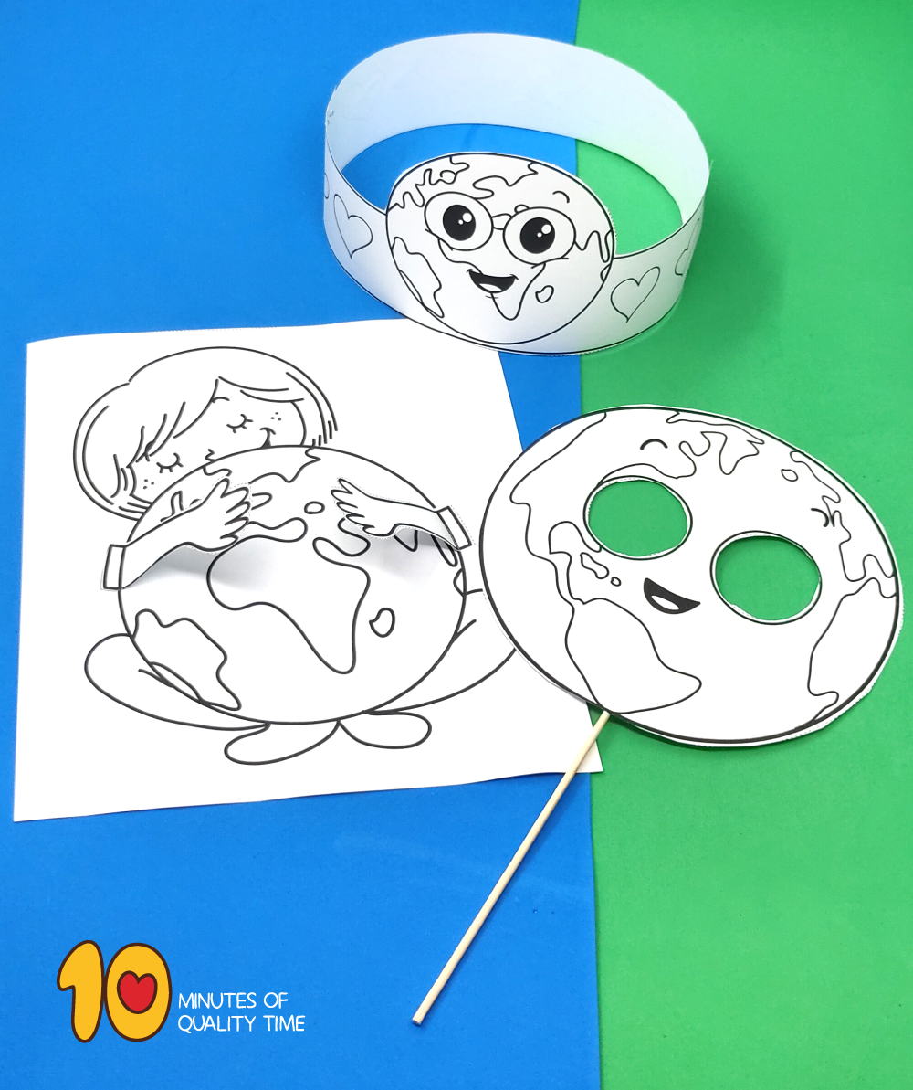 earth day craft for kindergarten
