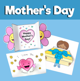 3 Mother's Day Crafts with Flowers