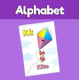 Letter K 3D Craft