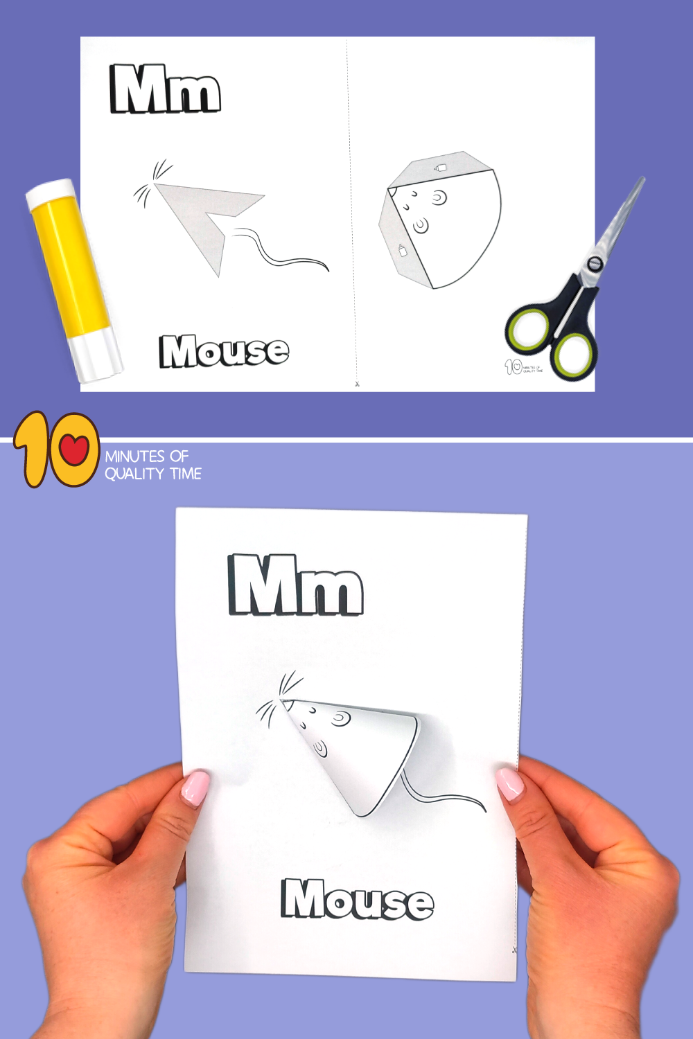 letter m craft for preschool