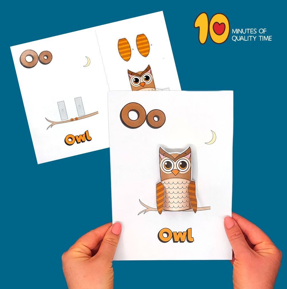 letter o craft for preschool