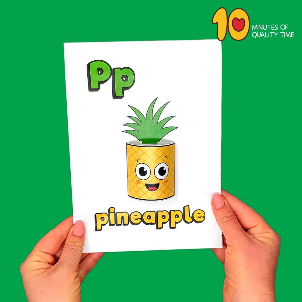 letter p craft template