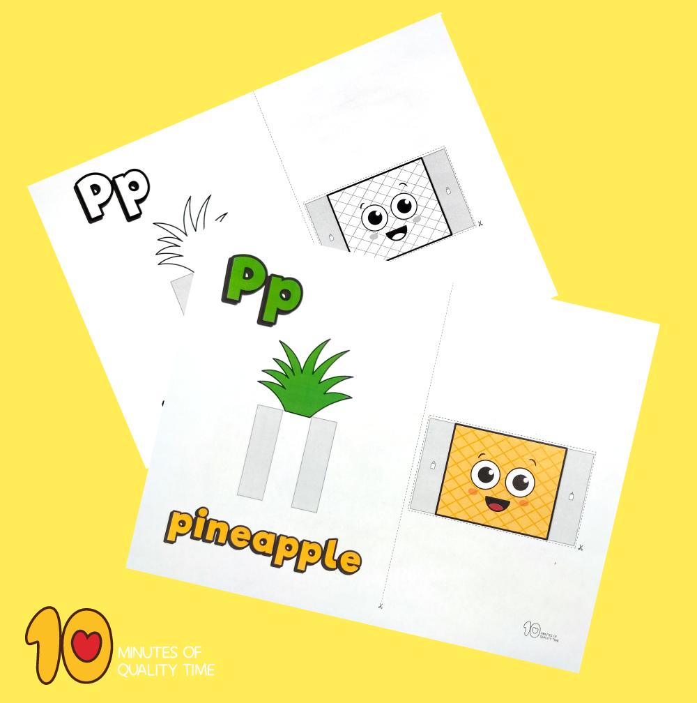 letter p craft for preschool