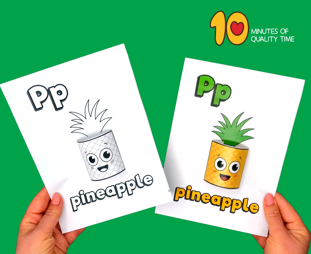 letter p craft for toddlers