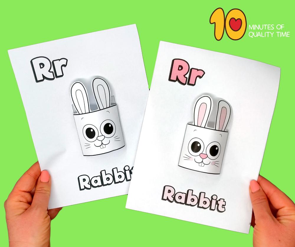 letter r craft printable
