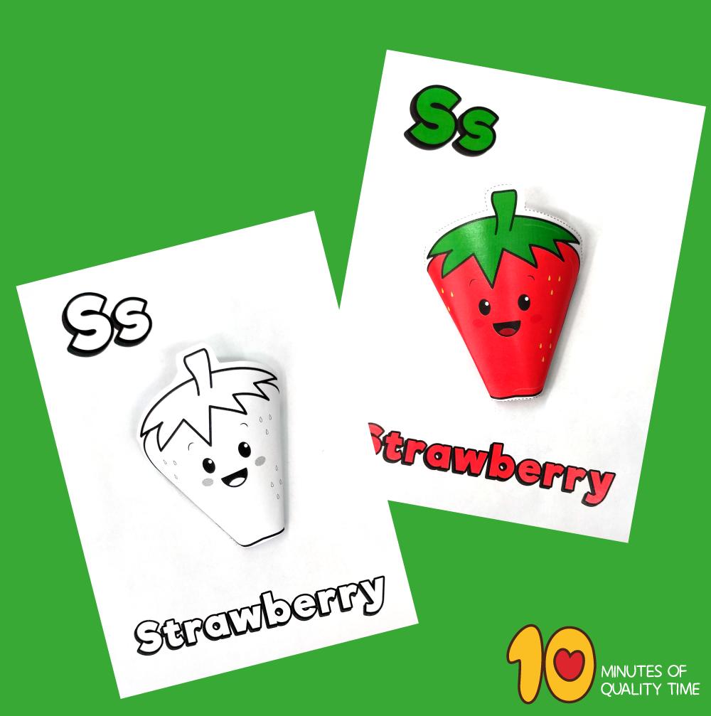 letter s craft for kindergarten
