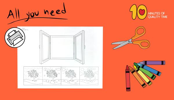 four seasons craft for preschoolers