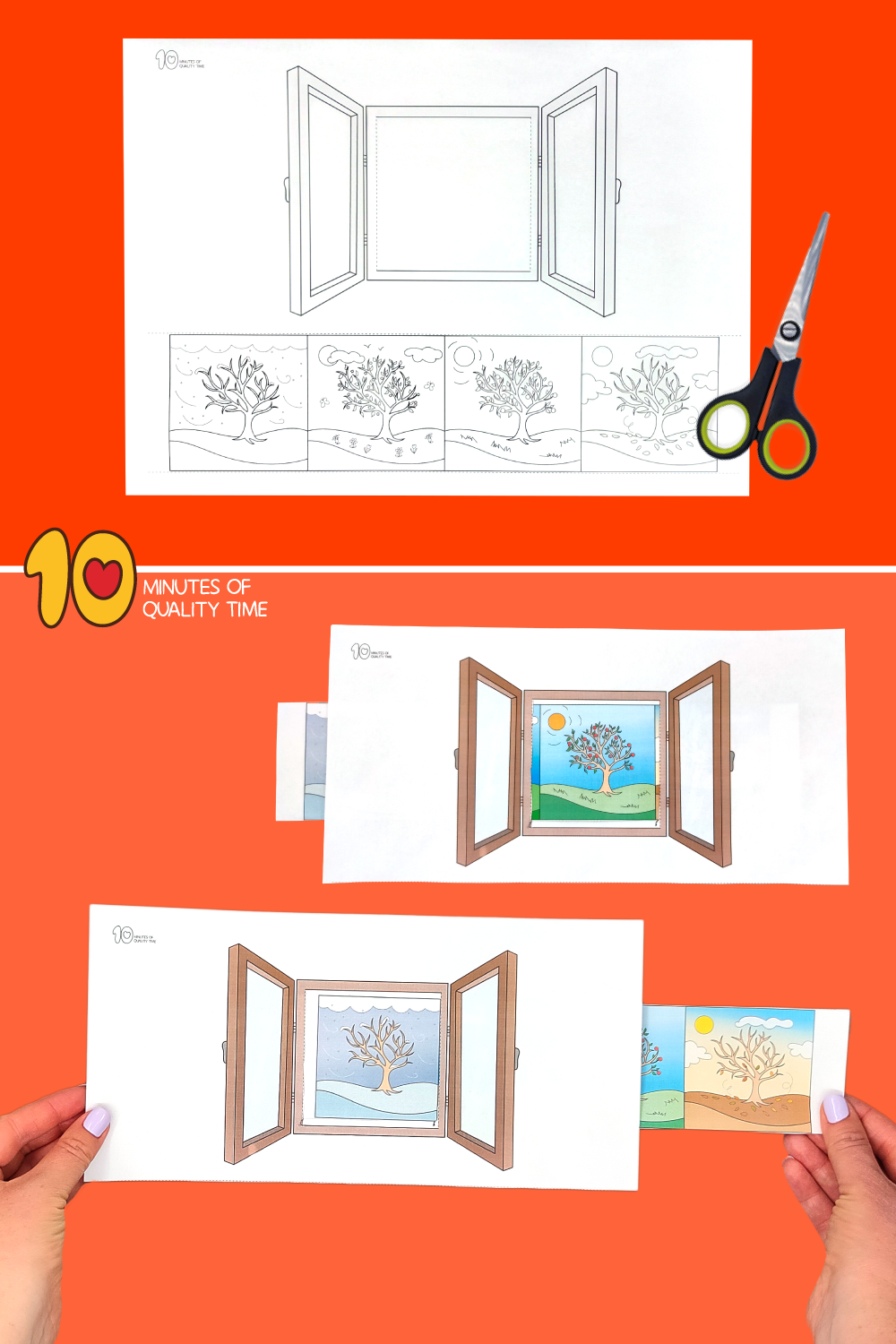 four seasons crafts for toddlers