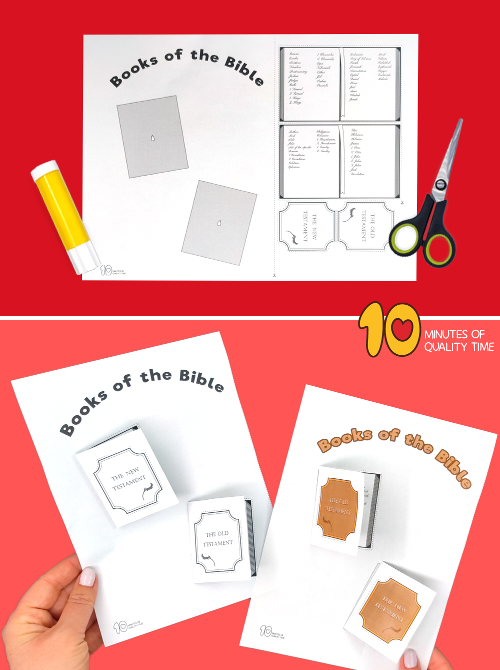 books of the bible crafts for preschoolers