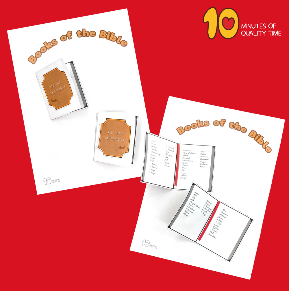 books of the bible craft ideas