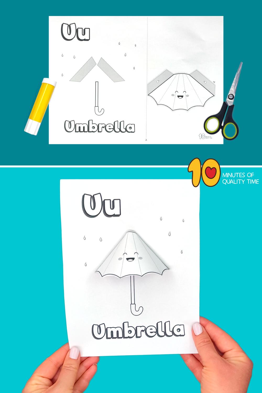 letter u craft preschool