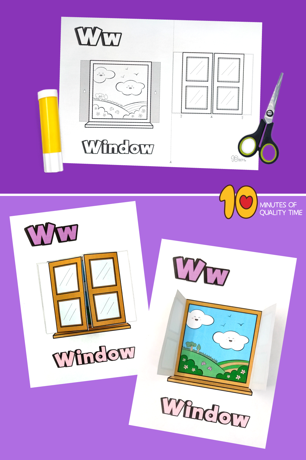 letter w craft printable