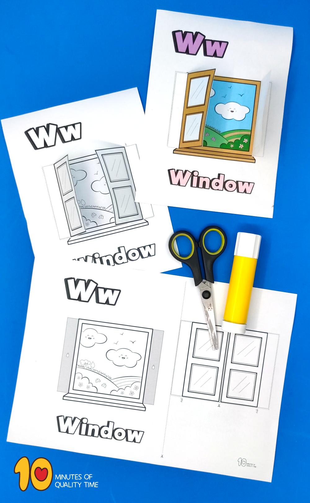 letter w activities