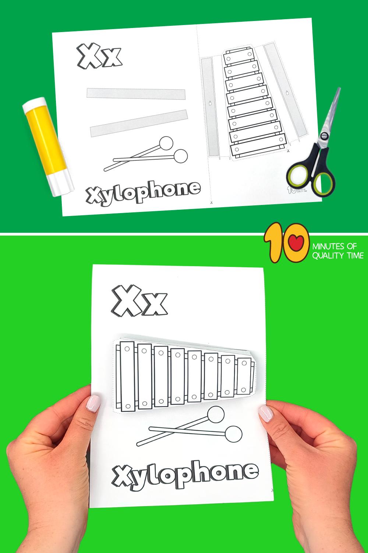 letter x activities for preschool