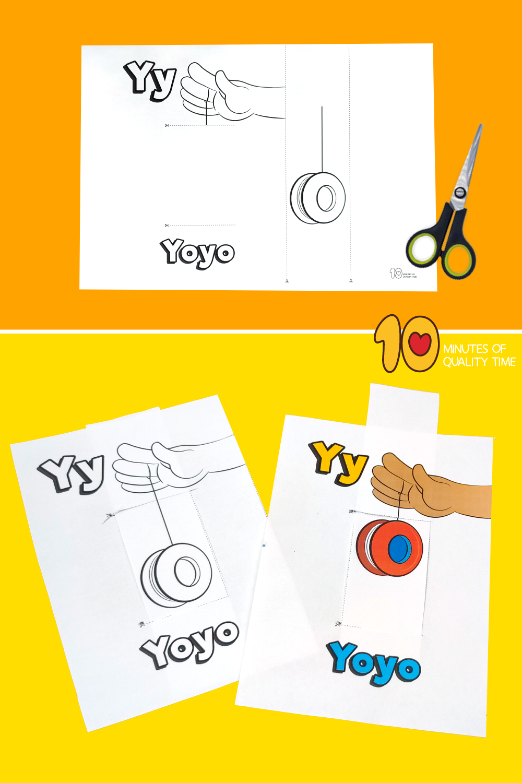 letter y crafts for preschool