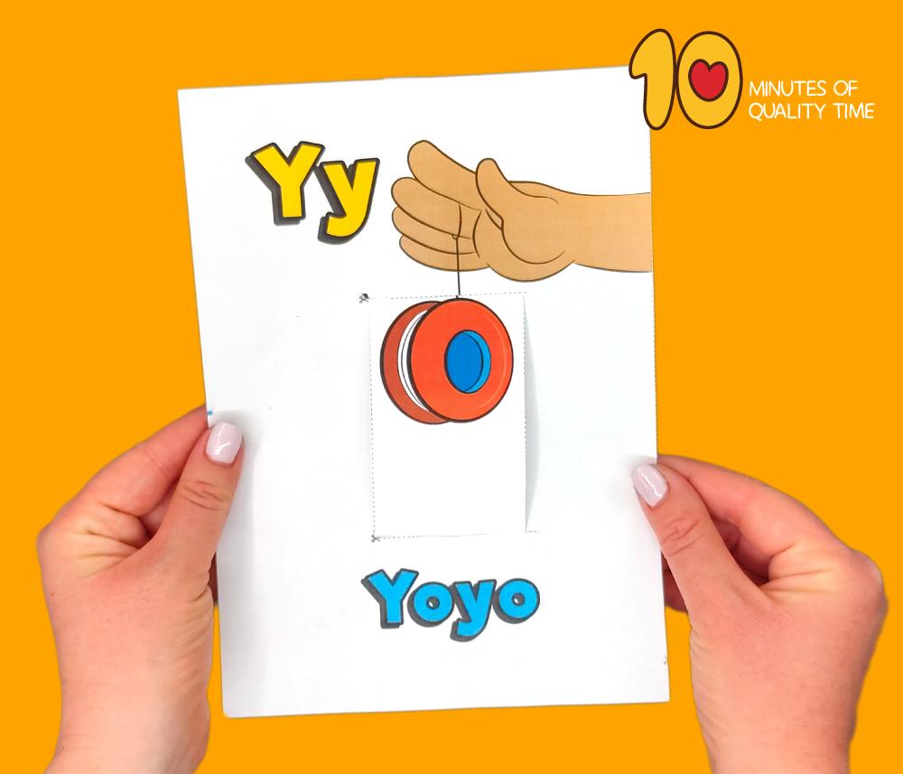 letter y crafts for kindergarten