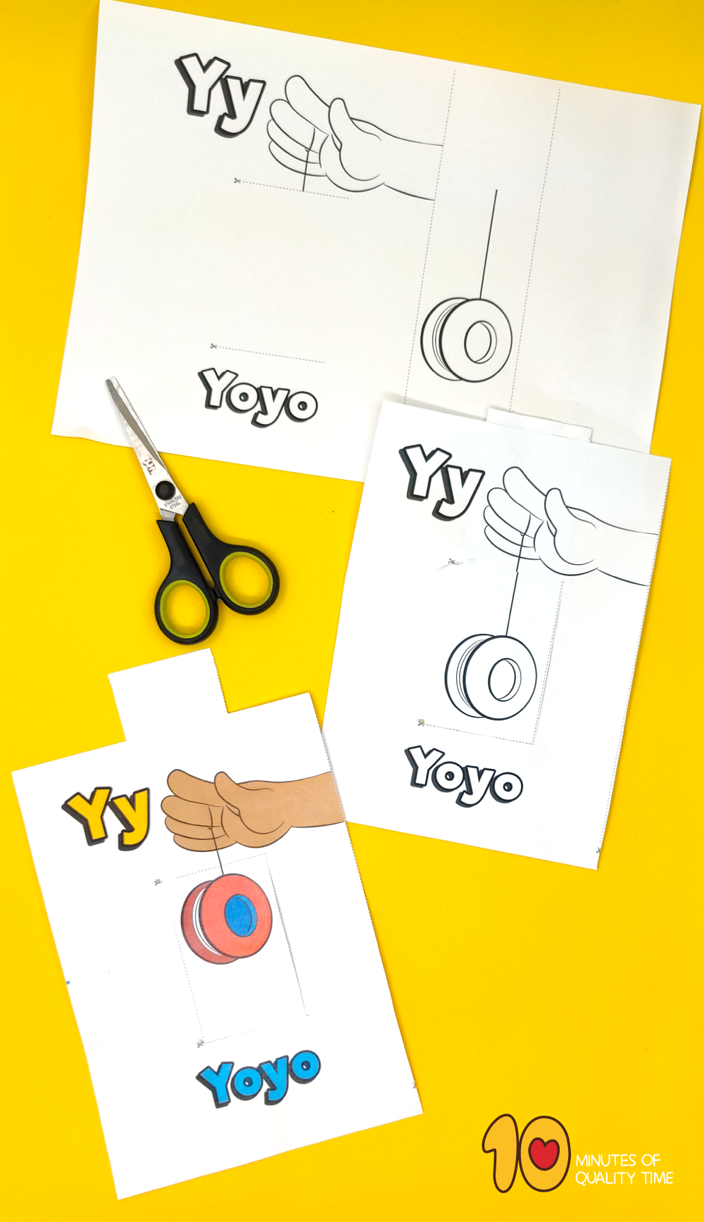 letter y arts and crafts