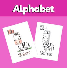 Letter Z 3D Craft