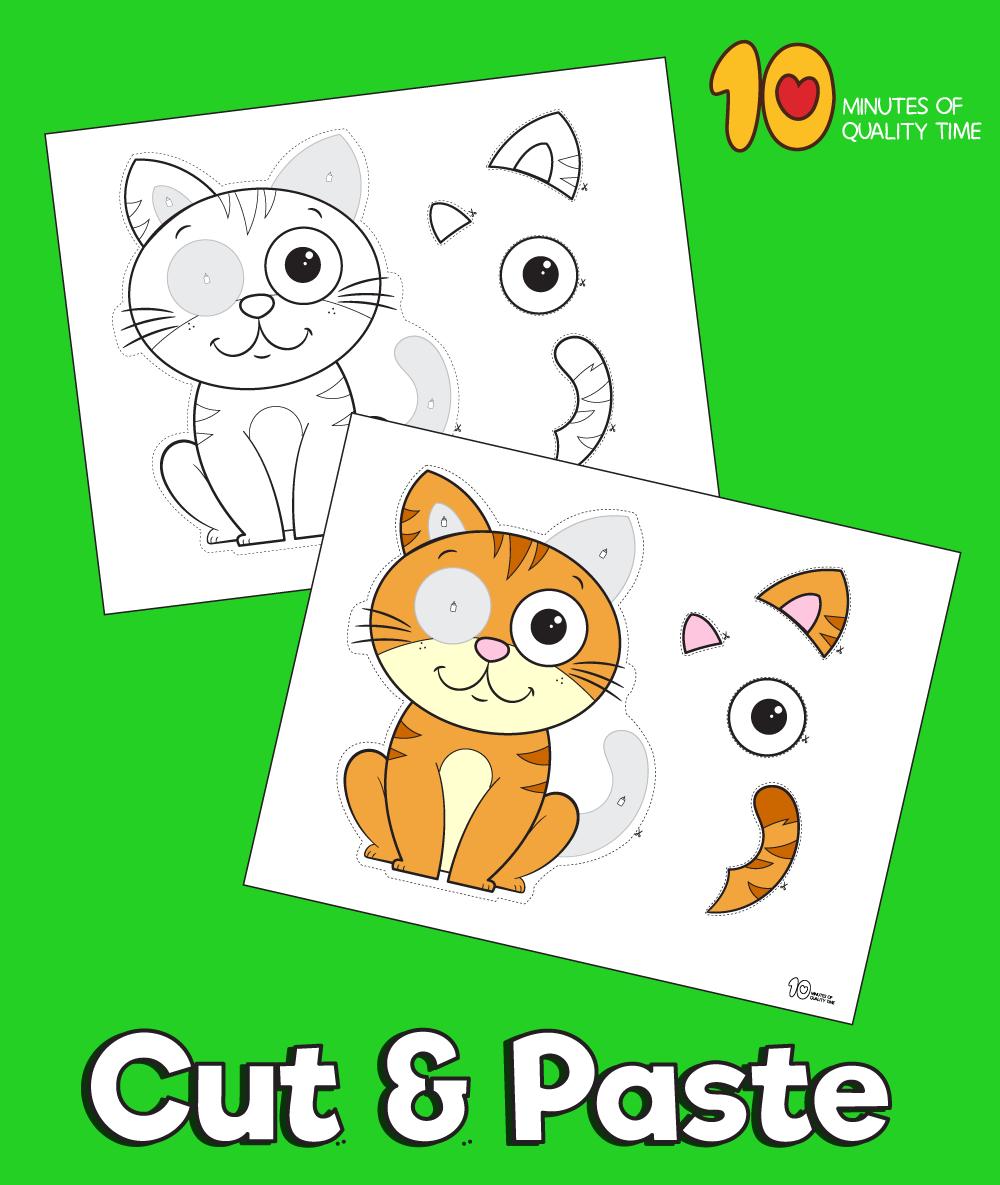 cat printable template