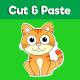 Cat cut and paste