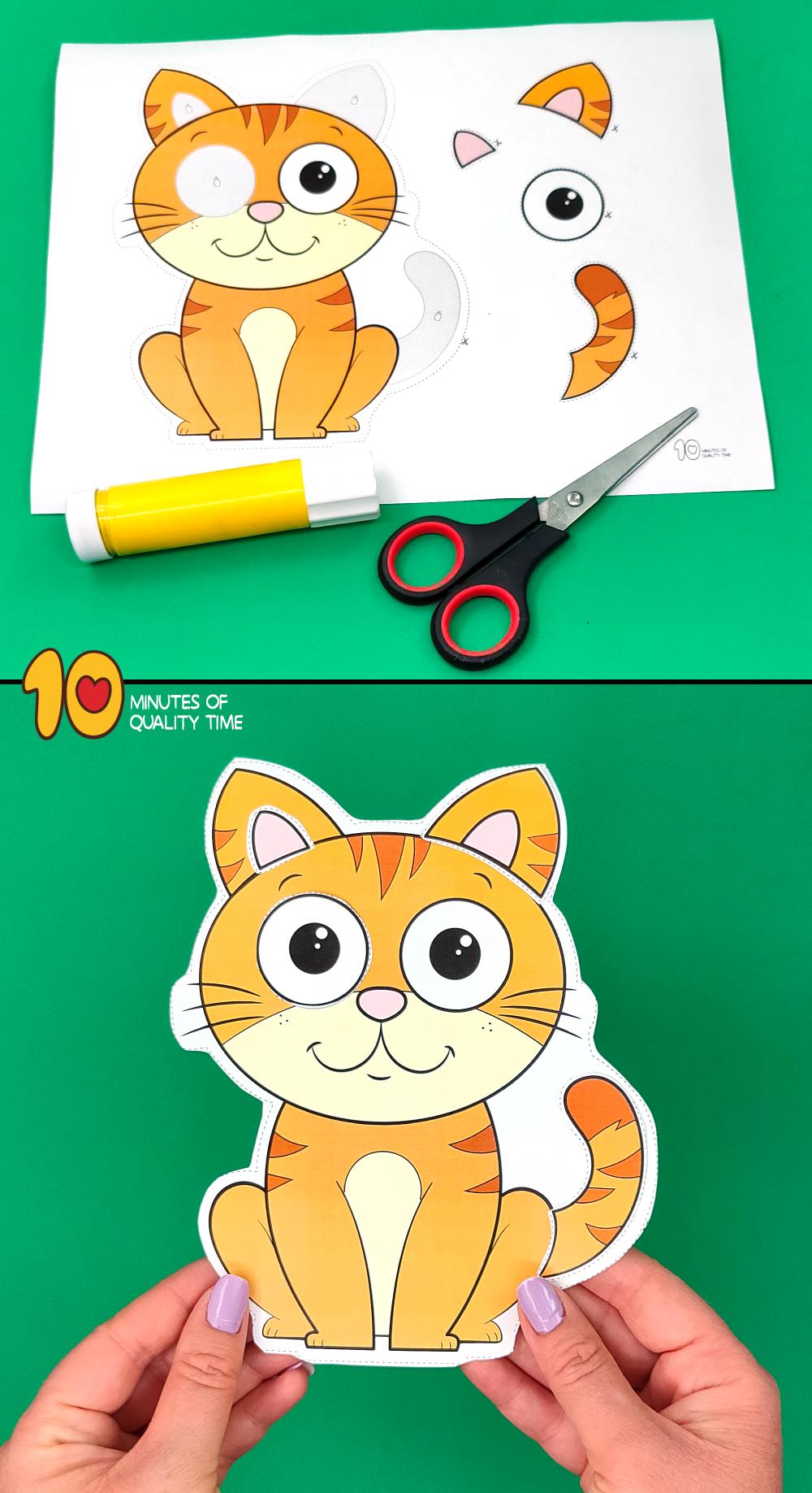 cat craft preschool